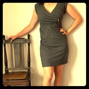 Marc Jacobs Wool Office Dress with Zipper